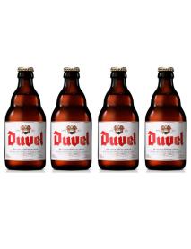 Oferta Speciala - 4 beri DUVEL - Bere blonda 8.5% alc. - 0.33l - la pret special / bere speciala Belgia