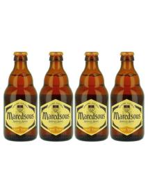 Oferta Speciala - 4 beri MAREDSOUS BLOND - Bere blonda 6% alc. - 0.33l - la pret special / bere de abatie Belgia