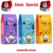 xmas - Oferta Speciala - ceai BIO English Tea Shop Slim Me, Sleepy Me si Honeybush Acai Berry  Punch / la pret de sarbatoare