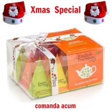 xmas - Oferta Speciala - English Tea Shop - Ceai de rooibos prisme - 24g - la pret de sarbatoare / produs in Sri Lanka